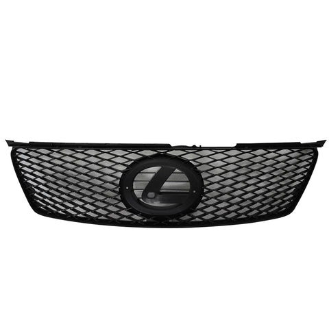 06-08 Lexus IS250 350 ISF IS-F Style Black Mesh Front Hood Grille