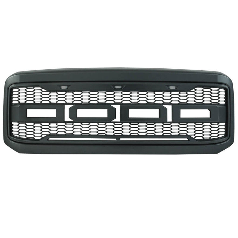 05 07 Ford F250 F350 New Raptor Style Front Bumper Grille Altec Development Corp