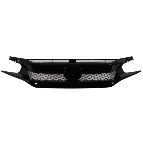 16-18 Honda Civic Type R Style Front Bumper Grille Grill - ABS