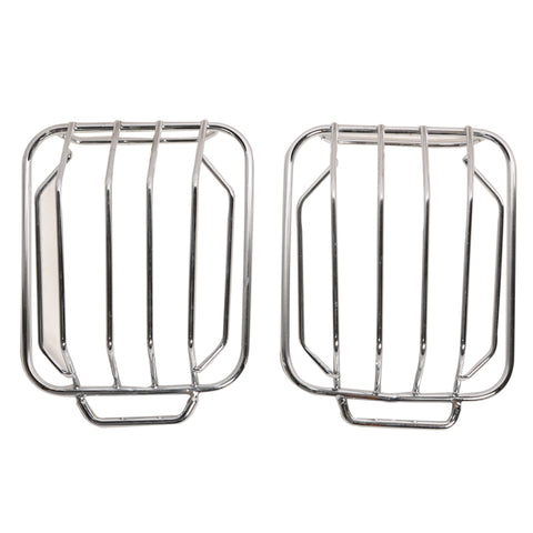 99-07 Mercedes G500 G550 Chrome Front Light Guard