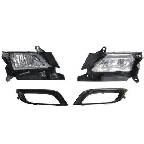 10 11 Mazda 3 4D 5D OE Fog Lamps Pair Clear Lens 2pcs