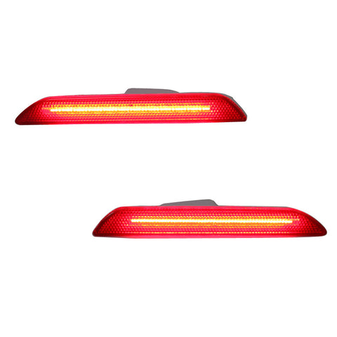 15-17 Ford Mustang Rear Side Marker LED Reflectors