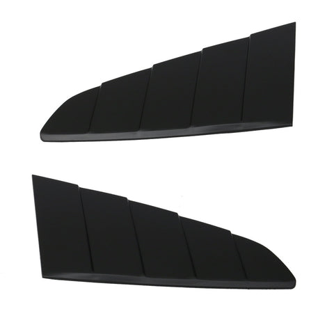 15-17 Ford Mustang CV Style Side Window Louvers