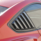 15-17 Ford Mustang Side Quarter Window Louvers