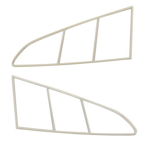15-17 Ford Mustang Side Window Trims 3D Style