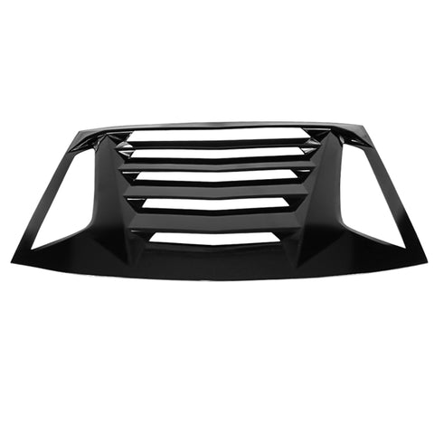 11-20 Dodge Charger IK V2 Style Rear Window Louver - Gloss Black