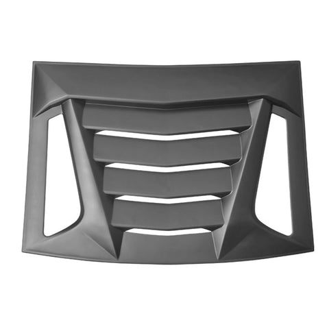 05-14 Ford Mustang V2 Style Rear Window Louvers Shade Cover - Unpainted ABS