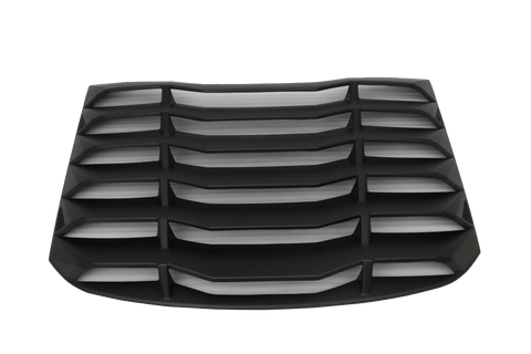 15-17 Ford Mustang Rear Window Louver K Style