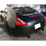 09-17 Nissan 370Z K Style Rear Window Louvers Cover Sun Shade - ABS