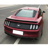 15 Up Ford Mustang ABS Rear Window Louvers Cán Style
