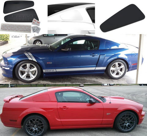 10-14 Ford Mustang GT350 Style Rear Quarter Window