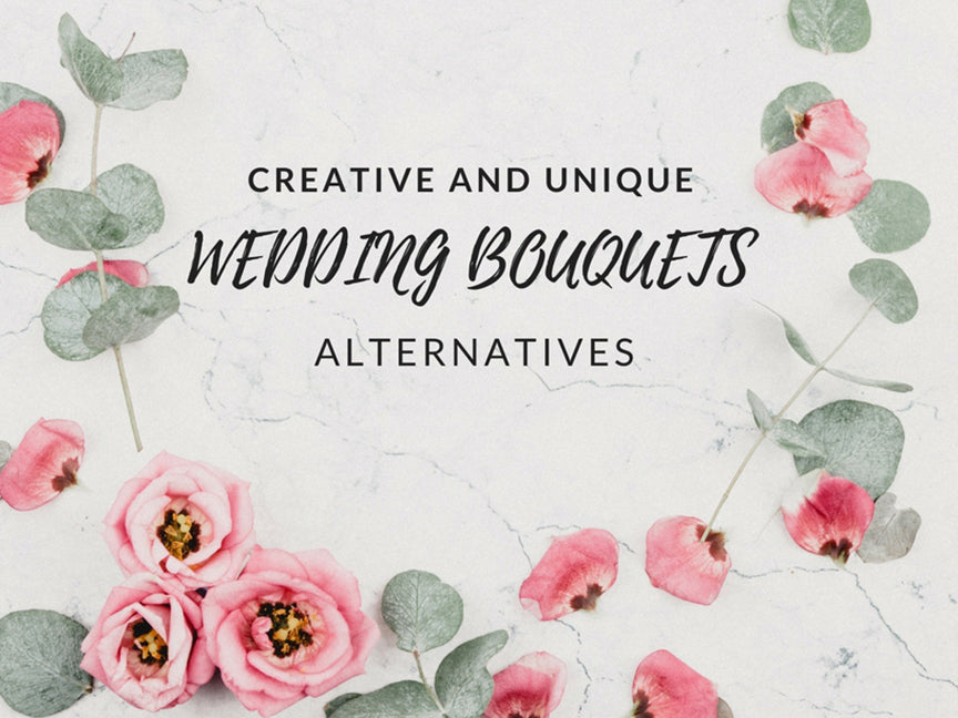 Creative and Unique Wedding Bouquets Alternatives
