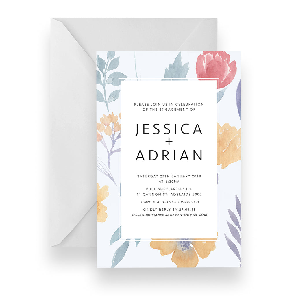 Garden Delight Invitation