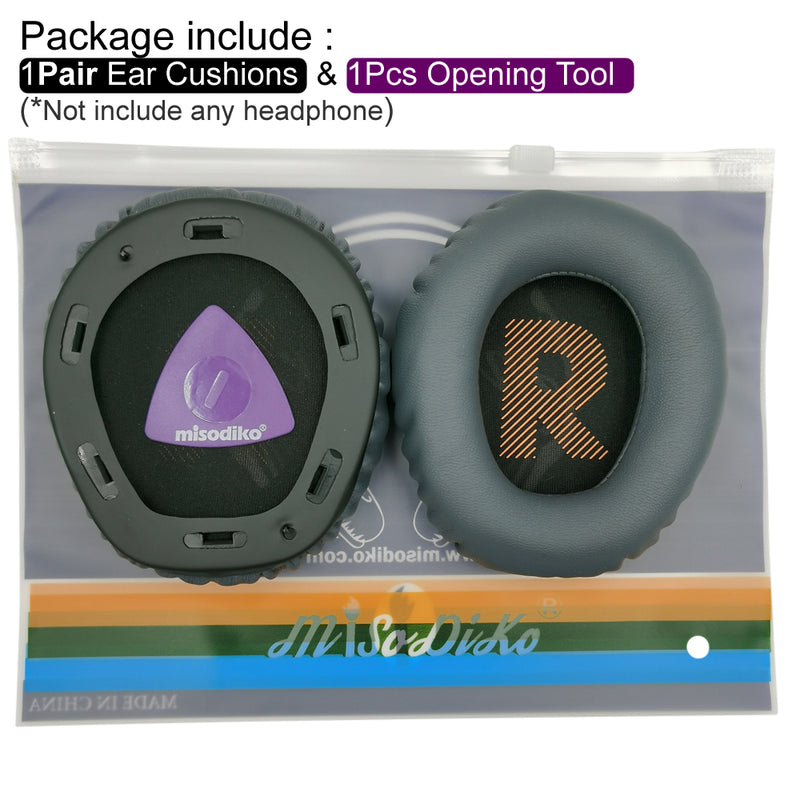 misodiko Ear Cushions Pads Earpads Replacement for JBL Quantum 100 Q100 Over-Ear Gaming Headset
