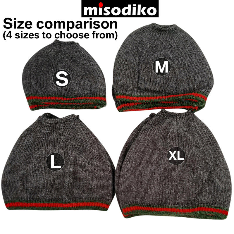 misodiko Stretchable Knit Fabric Earpads Covers Compatible with AKG K550 K551 K553 MK II K701 Q701, ATH AD1000X AD2000X, Razer Thresher ManOWar Nari Kraken Pro V2, GRADO PS1000 PS2000e GS1000 GS2000e GS3000e Headphones Ear Cushions Protectors (4Pcs, XL)