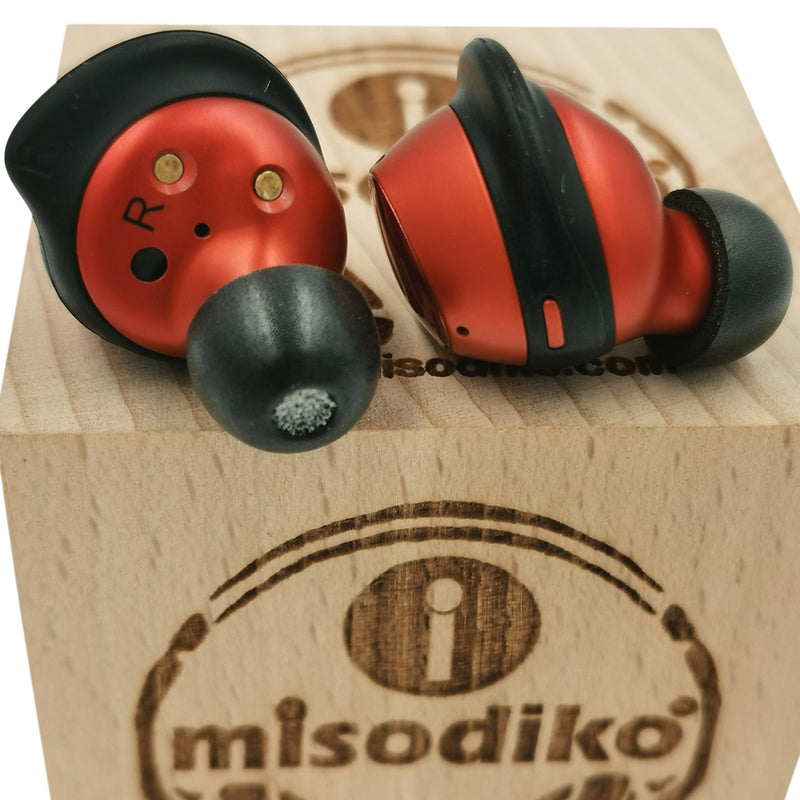 misodiko Silicone Anti-slip Cover Tips Replacement for Samsung Galaxy Buds, Galaxy Buds+ Plus True Wireless Earbuds