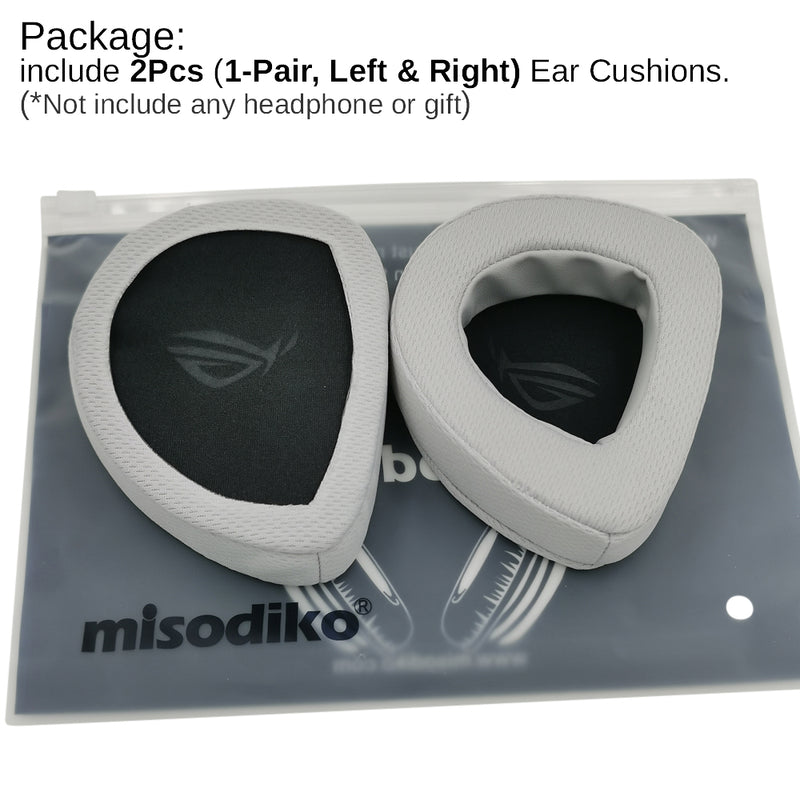 misodiko Replacement Ear Pads Cushion Kit for - ASUS ROG Delta Gaming Headset, Headphones Repair Parts Earpads