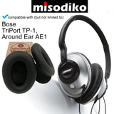 misodiko Replacement Ear Pads Cushion Kit - for Bose Around Ear AE1, Triport TP-1 TP-1A, Headphones Repair Parts Earpads