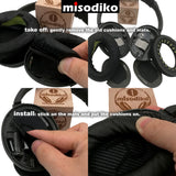 misodiko Replacement Cushions Ear Pads - for Bose QuietComfort 15/ 2/ 25/ 35, QC15/ QC2/ QC25/ QC35, SoundTrue/ SoundLink Around-Ear II AE2 AE2i AE2w, Headphones Repair Parts Earmuff Earpads Cup Pillow Cover (Camo)