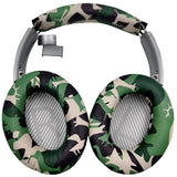 misodiko Replacement Headband Cushion and Ear Pads - for Bose Quiet Comfort 35 (QC35) and QuietComfort 35 II (QC35 II), QuietComfort 25 (QC25) Headphones, Repair Parts Headband and Earpads with Mats (Camo)