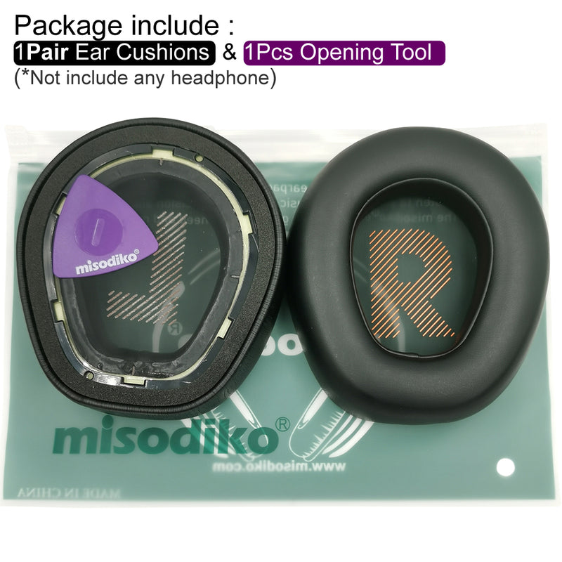 misodiko Ear Cushions Pads Earpads Replacement for JBL Quantum One Over-Ear Gaming Headset