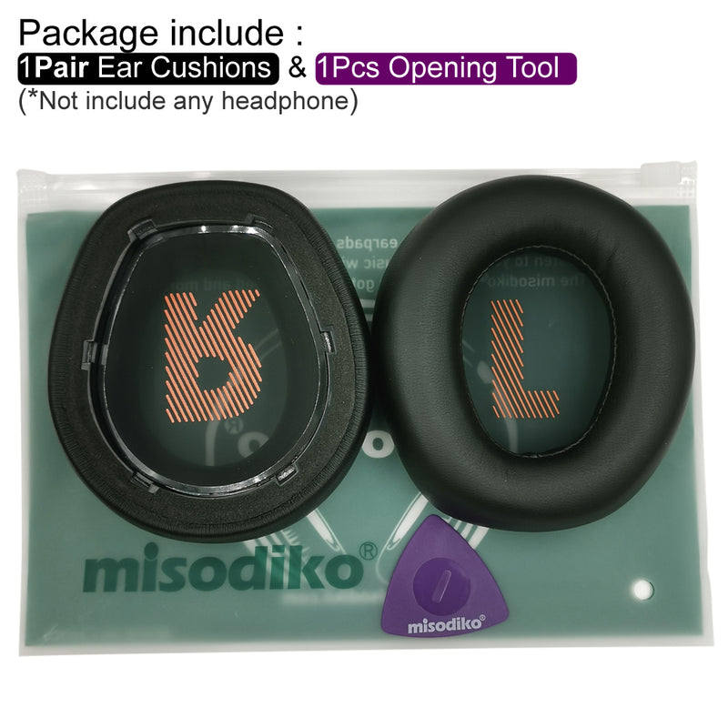 misodiko Ear Cushions Pads Earpads Replacement for JBL Quantum 800 Q800 Over-Ear Gaming Headset