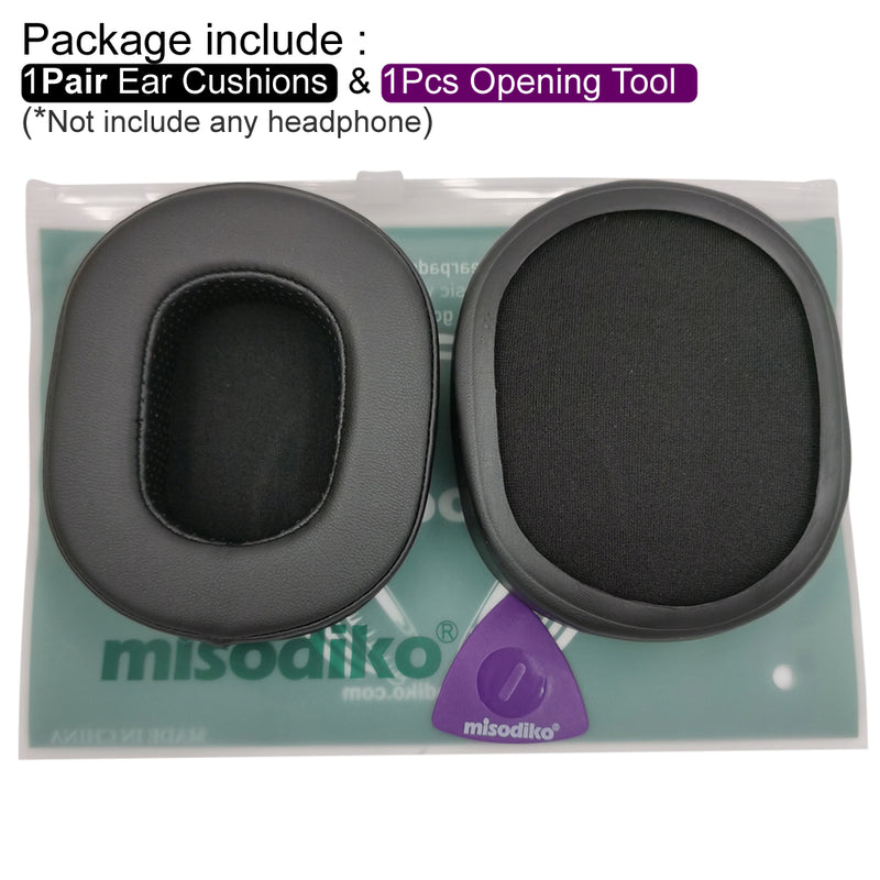 misodiko Upgraded Ear Cushions Pads Earpads Replacement for Logitech G Pro X, Razer BlackShark V2 X Gaming Headset