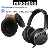 misodiko Replacement Ear Pads Cushion Kit - for Sony MDR10R MDR-10RBT MDR-10RNC | Headphones Repair Parts Earpads