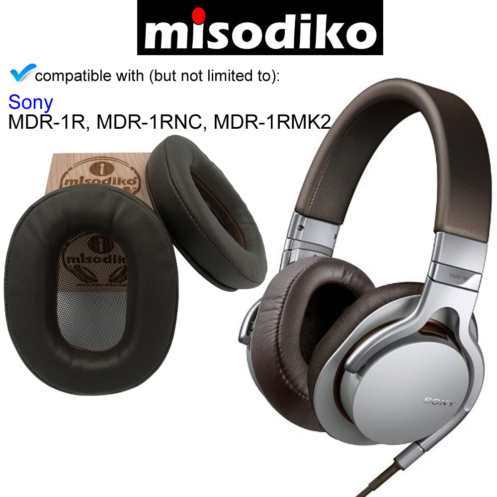 Misodiko Replacement Ear Pads Cushion Kit For Sony Mdr 1r Mdr 1rbt Mdr 1rnc Mdr 1rmk2 Headphones Repair Parts Earpads