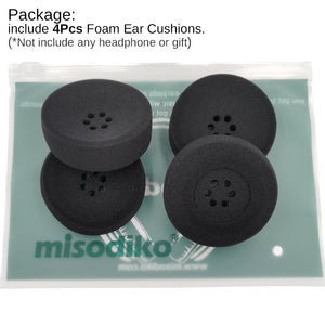 misodiko Foam Ear Cushion Pads Replacement for Plantronics SupraPlus CS351 CS351N CS361 CS361N CS510 CS520 W710 W720 WO300 WO350 71781-01 Headset, Headphones Repair Parts Earpads (4Pcs)