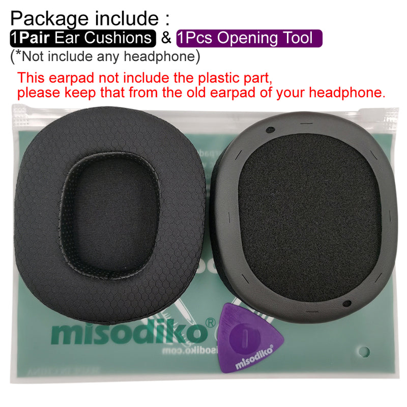 misodiko Upgraded Ear Cushions Pads Earpads Replacement for Razer BlackShark V2, V2 Pro Gaming Headset