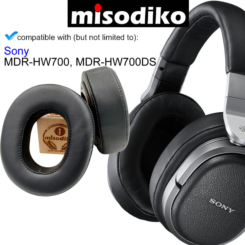 misodiko Headphones Ear Pads Cushions Earpads Kit Replacement for Sony MDR-HW700, MDR-HW700DS, MDRHW700, MDRHW700DS