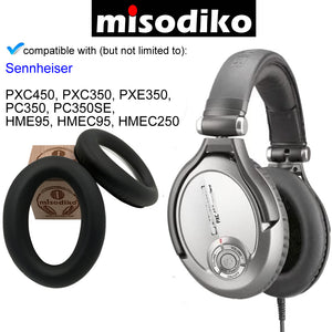 misodiko Replacement Ear Pads Cushion Kit - for Sennheiser PC350, PXC350, PXE350, PXC450, HME95, HMEC250, Headphones Repair Parts Earpads