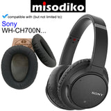 misodiko Replacement Ear Pads Cushion Kit - for Sony WH-CH700N, Headphones Repair Parts Earmuff Earpads Cup Pillow Cover