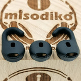 misodiko EarGels Earbuds Tips for Jabra Talk 45/ Stealth/ Boost Bluetooth Headset, Replacement Silicone Ear Buds Gels Eartips (6Pcs)
