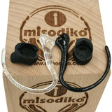 misodiko Earhooks and Earbuds Eargels Eartips Spare Kit for Plantronics E10/ ML20/ M50/ Explorer 50/ Explorer 55 Bluetooth Headsets, Replacement Parts Ear Hooks and Buds Gels Tips