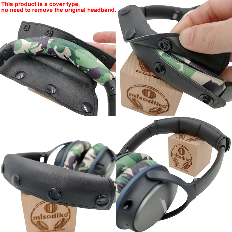 misodiko Headband Cover Suitable for Bose QuietComfort QC15 QC25 QC35, QC35ii Headphones