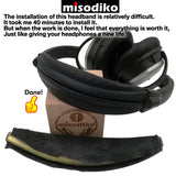 misodiko Replacement Head Band Kit - for Bose Quiet Comfort 2 (QC2) and QuietComfort 15(QC15),  Headphones Repair Parts Headband Pad