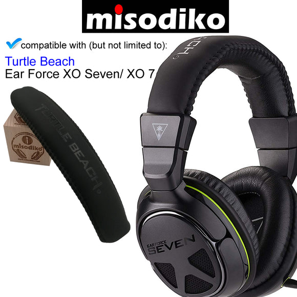 misodiko Replacement Headband - for Turtle Beach Ear Force XO Seven (XO 7) Pro Premium Gaming Headset, Headphones Repair Parts Headband