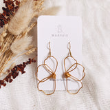 Two Halves -  FLOWER CHILD Earrings - Ear Wire *Muliti-Colour Options