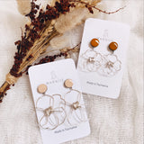 Daisy Pair- Coloured Top - FLOWER CHILD Earrings *Muliti-Colour Options