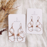 Two Halves MINI -  FLOWER CHILD Earrings - Ear Wire *Muliti-Colour Options