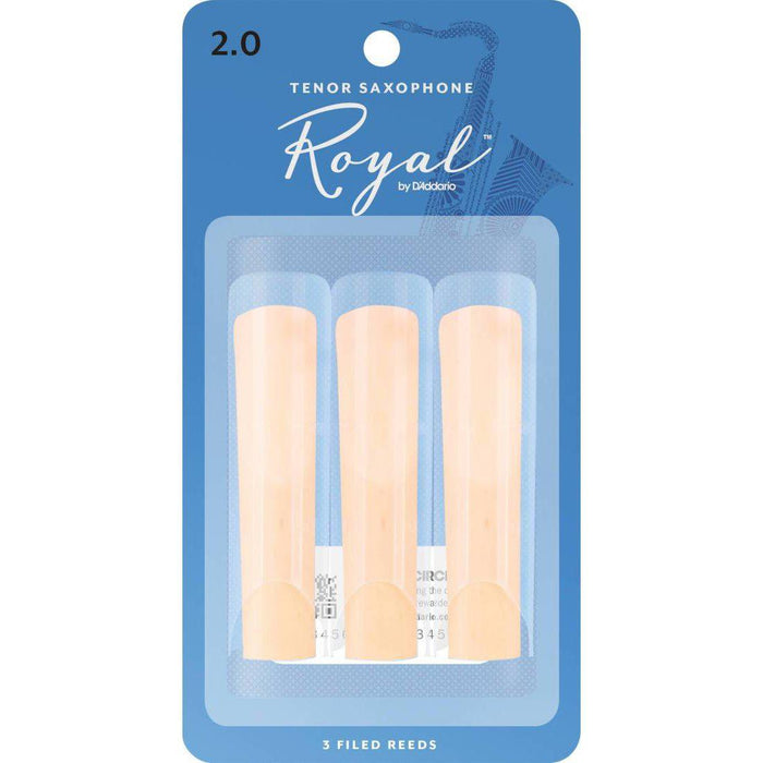 Royal by D'Addario Tenor Saxophone Reeds
