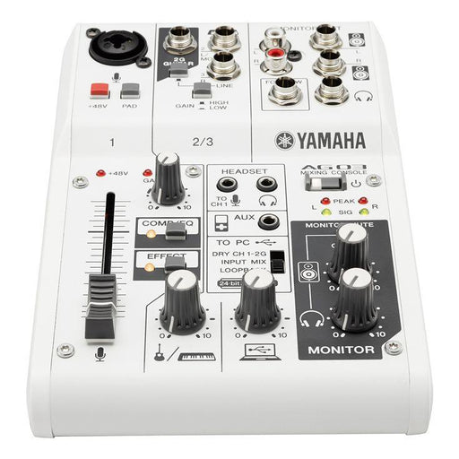 YAMAHA AG03 24BIT/192KHZ MIXER / USB AUDIO INTERFACE