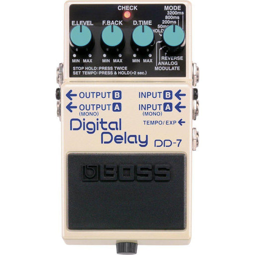 Boss DD-7 Digital Delay Effects Pedal