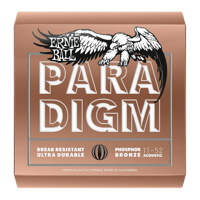 Ernie Ball Paradigm Light Phosphor Bronze Acoustic Guitar Strings - 11-52 Gauge