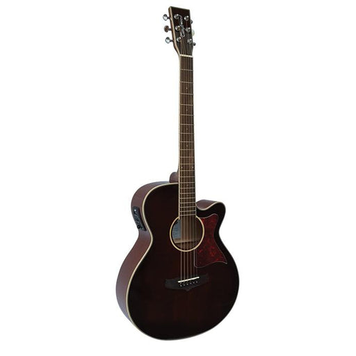 Tanglewood TW4WB Winterleaf Super Folk - Whiskey Barrel Burst W/ Cutaway