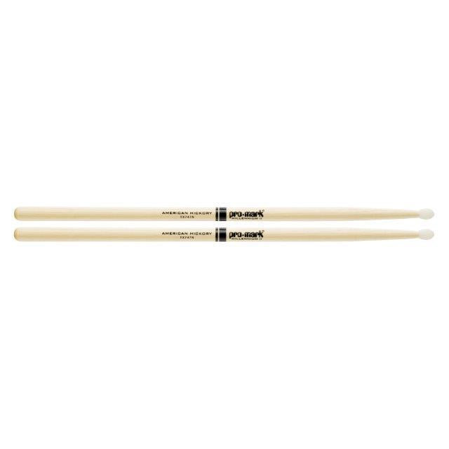 747 NYLON TIP DRUMSTICKS ROCK AMERICAN HICKORY