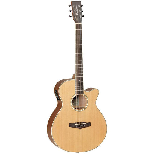 Tanglewood Winterleaf TW9 Super Folk Cutaway Electric Solid Cedar Top