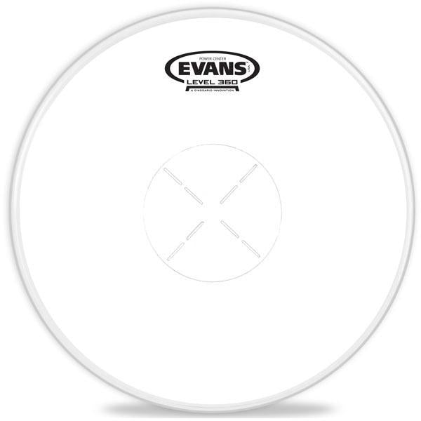 "Evans Drum head - 14"" Power Center Snare Batter"